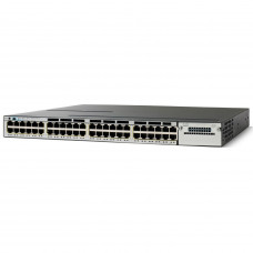 WS-C3750X-48P-L Маршрутизатор Catalyst 3750X 48 Port PoE LAN Base