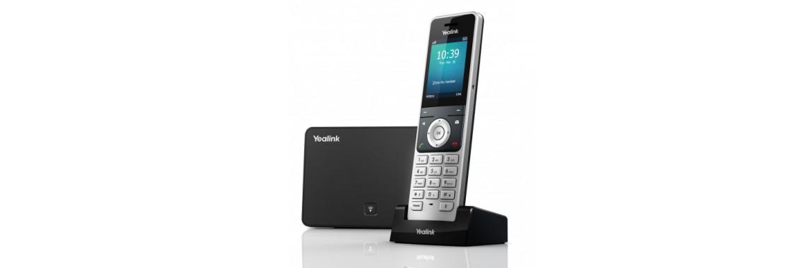Yealink W56P — Хит продаж! Беспроводной DECT IP-телефон: 5 x SIP